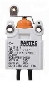 BARTEC防爆开关